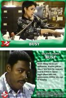 GHOSTBUSTERS 30TH ANNIVERSARY DELETED CHASE CARD 4 by WOLVERINE25TH