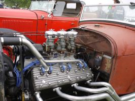 Rat rod V12 by acrylicwildlife
