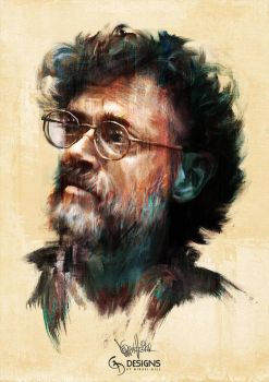 Terence McKenna Tribute 3 by mickehill