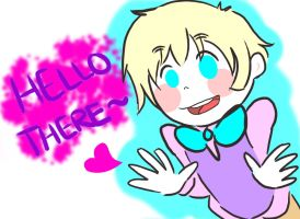 Hello 2p!England by Mindless-Artist