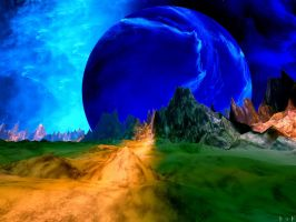 The Road To Ascalon by FracFx