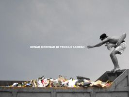 kolam sampah by japjazz