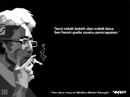 MR.WEDHA on gray scale by Yusuf-Graphicoholic