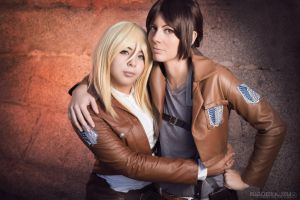 Ymir x Christa II by Phadme