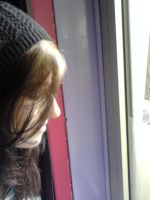 Looking Out The Window by xSofticatious