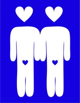 Gay couple by remdesigns