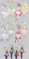 Magical Girls + Power-up + Corrupted by rika-dono