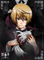 Alois Fanart Collab with Jokepie by SweetLittleVampire