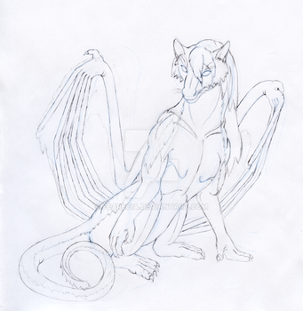 Child of Change - Sketch by Fearecia