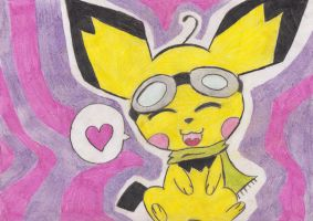 Request - Pichu by Phewmonsuta