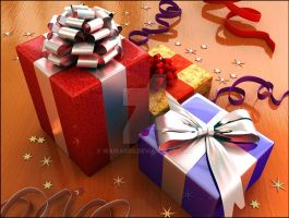 Giftbox by waikar3d