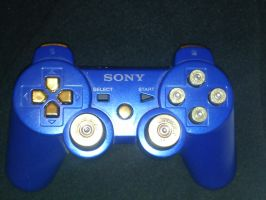 my PS3 controller by daz1200