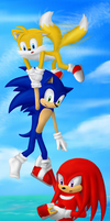 Sonic Heroes... by Speedy1236