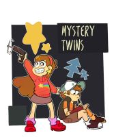 Mystery Twins by xCandyliciousx