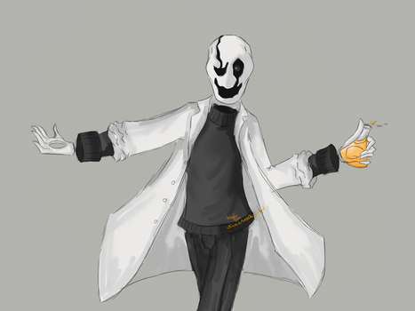 Gaster: We're All Mad Here by SmitchArt