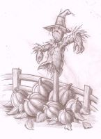 Scarecrow tattoo concept by McTats