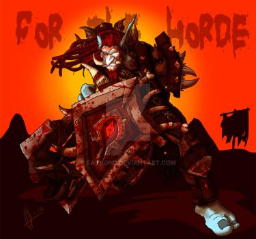For the Horde by FatVonD