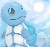Squirtle by SushiGryphon