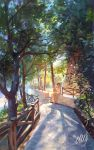 Pine alley by eleth89