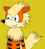 Sonic Styled Arcanine by Masterge77