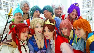 Fushigi Yuugi - Group Portrait by EveilleCosplay
