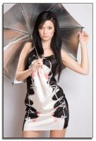 Silver umbrella by DreamPhotographySyd