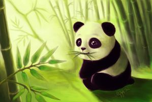 Happy Panda by Mang0l0v3r