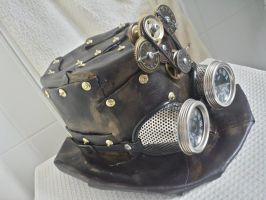 steampunk Top Hat by Illy251