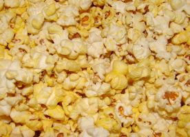 Buttered Popcorn Texture by FantasyStock
