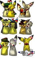 Worldchus derp chibis - batch 2 by Amelie-The-Pixie