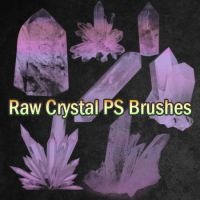 Raw Crystal Brushes by pswonderland2
