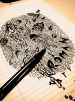 ~ Inky Doodles. by Oeon