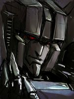 Skywarp doodle by Aiuke