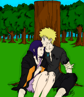 NaruHina :Happy Birthday by RedxMochi
