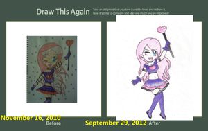 Draw this again challenge by jazzy1lol
