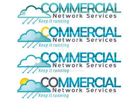 Commercial Network Services Logos by sampdesigns