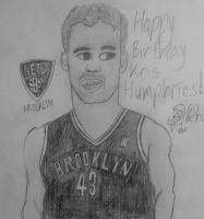 Kris Humphries by pedrotime