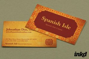 Spanish Restaurant Business by inkddesign