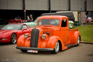 dodge custom truck by AmericanMuscle