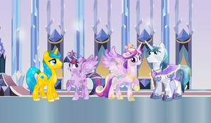 Welcome to the Crystal Empire by 3D4D