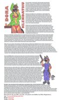 Lot of info about Dora that could interest you x3 by DingoPatagonico