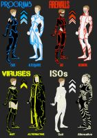 Tron Suit guides by Xelku9