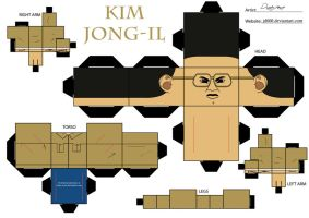 Kim Jong-il by Cubee-acres