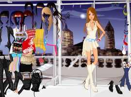 New York - Dress up Game by willbeyou