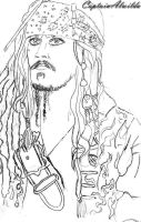 Jack Sparrow by CaptainAlwilda
