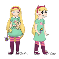 Star Collab by Deerfoot-the-Cat