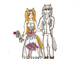 Sakirie and Youko for brideofs by inuyasha666hiei
