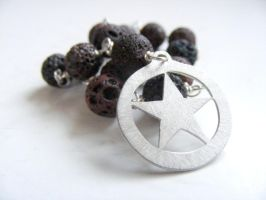 Lava Meditation Beads by MoonLitCreations