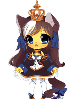 Chibi:: Royal Blue by megiemu