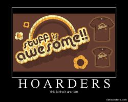 Hoarders by BlackTshirtFan